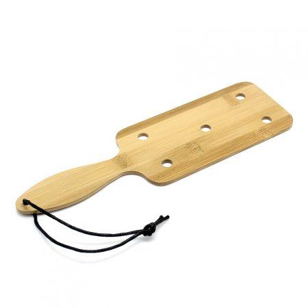 Short Bamboo Wood Paddle Crack Whip