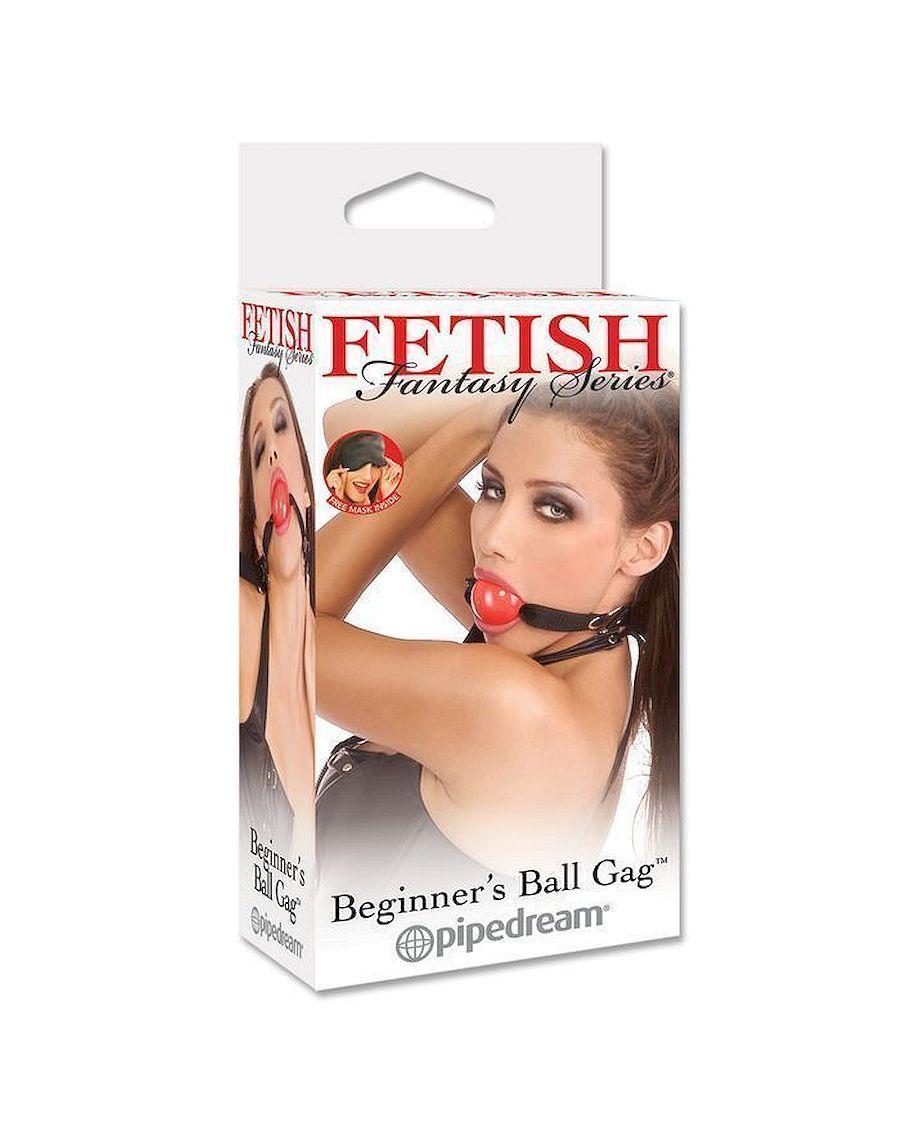 FETISH Fantasy Series Beginner's Ball Gag in Red