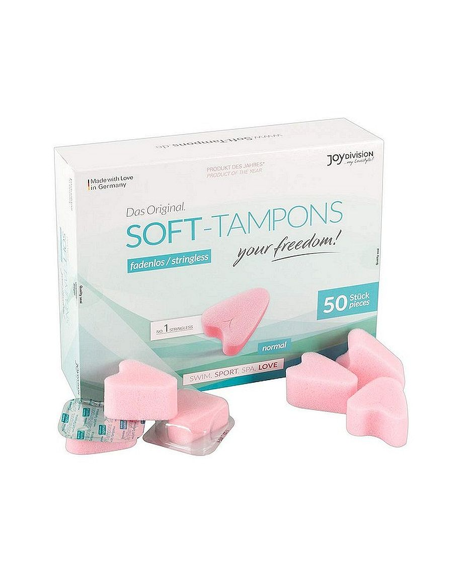 JoyDivision Soft Tampons Normal Box of 50