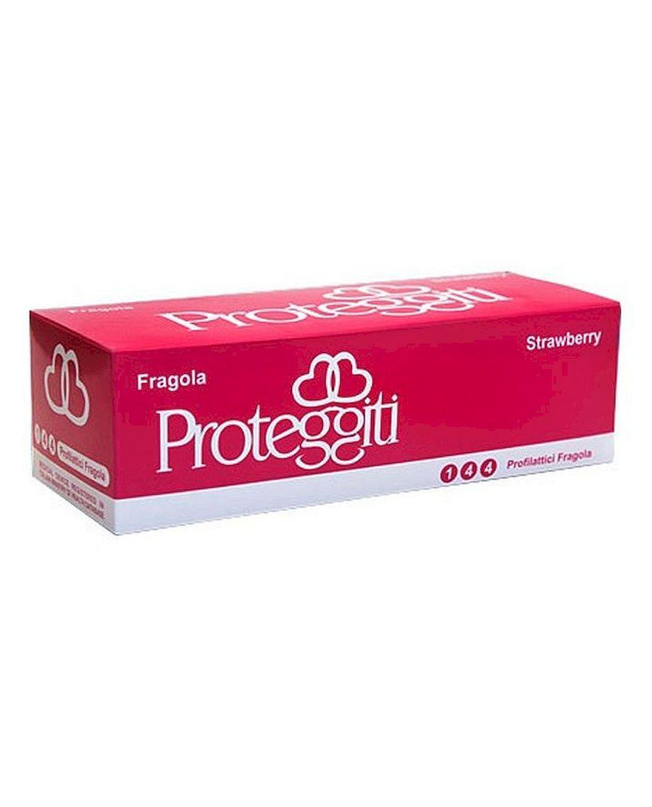 Proteggiti 144 Strawberry Flavored Condoms