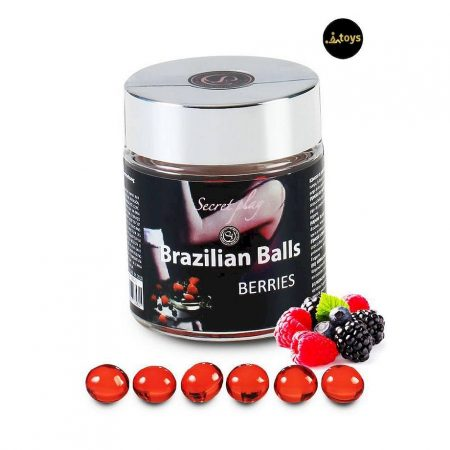 Secret Play 6 Berries Brazilian Balls Jar
