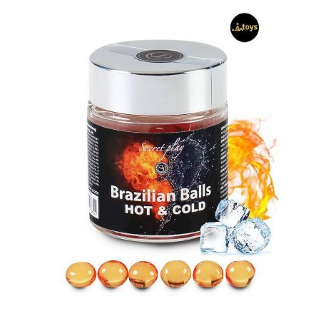 6 Hot and Cold Effect Brazilian Balls Jar