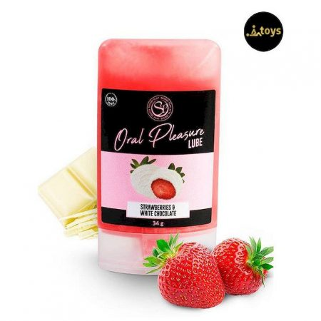 White Chocolate with Strawberries Edible Lubricant 34gr