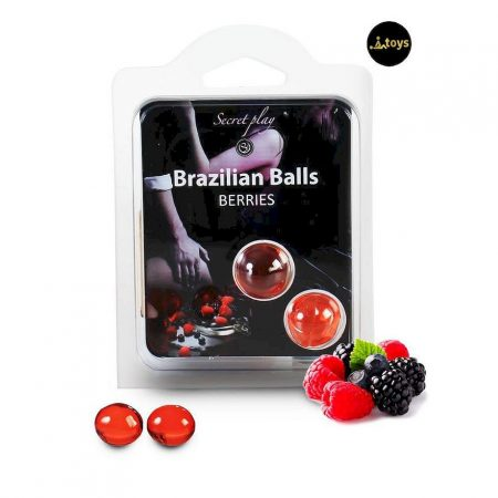 Secret Play Set 2 Brazilian Balls Berries Aroma