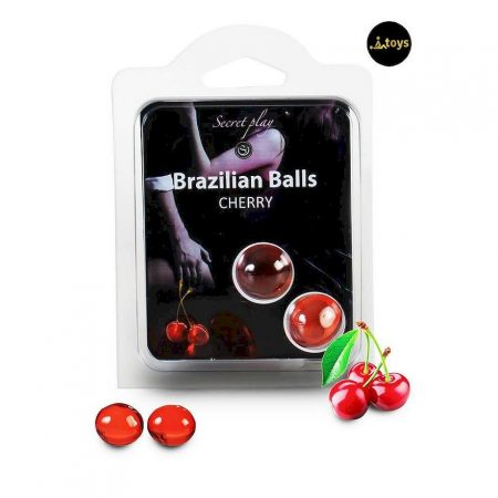 Secret Play Set 2 Brazilian Balls Cherry Aroma
