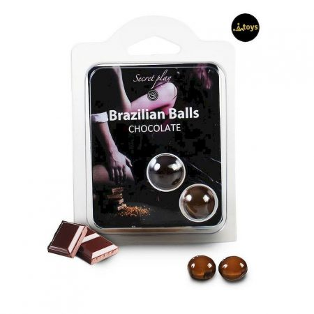 Secret Play Set 2 Brazilian Balls Aroma Chocolate
