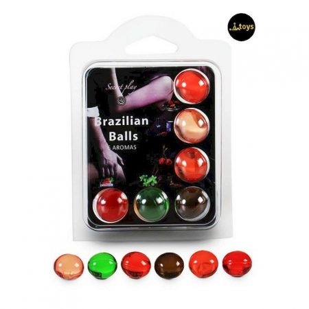 Secret Play 6 Mix Brazilian Balls Pack