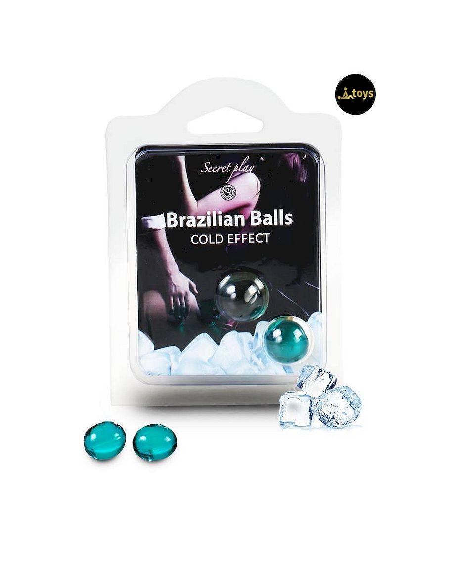 Secret Play Set of 2 Cold Effect Brazilian Balls