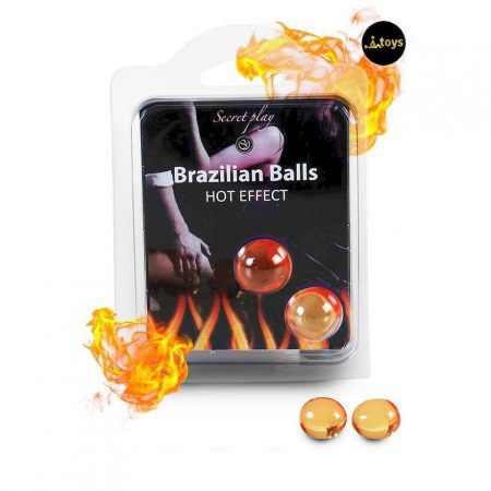 Secret Play Set of 2 Hot Effect Brazilian Balls