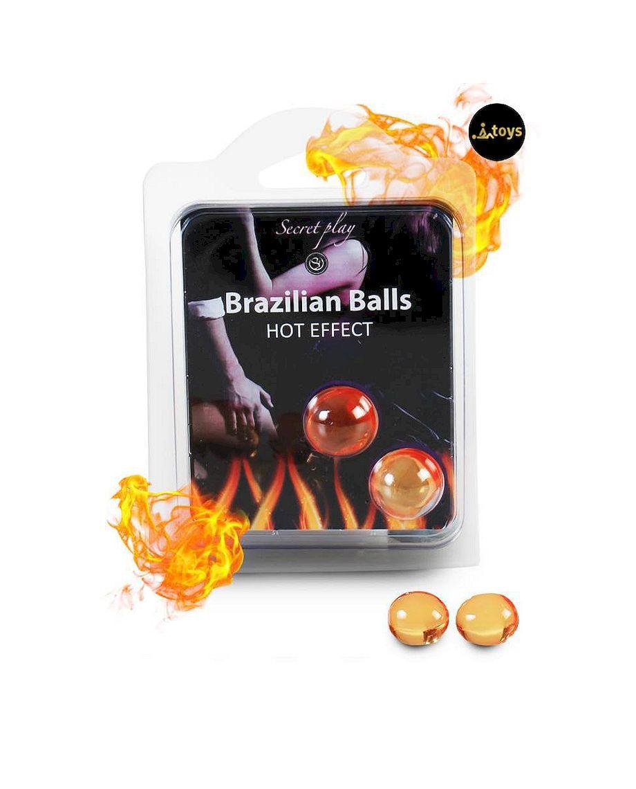 Secret Play Set of 2 Hot Effect Brazilian Balls