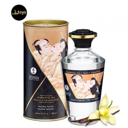 Heat Effect Oil Vanilla 100ml Shunga 22071