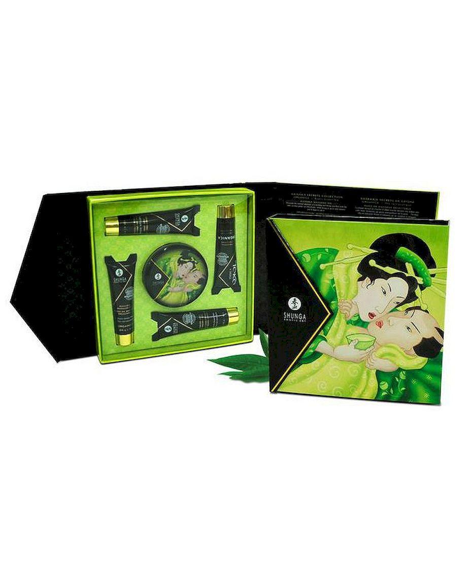 Shunga Geisha Secrets Kit in Green Tea