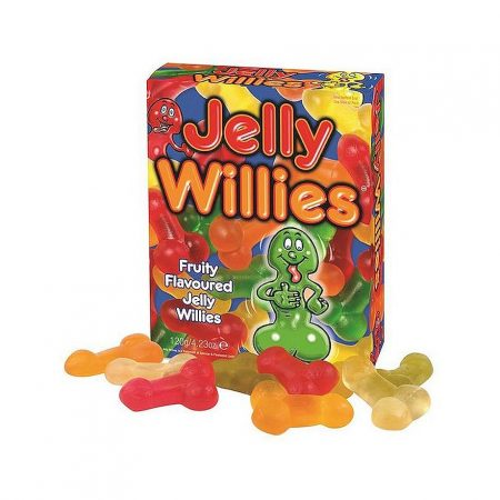 Spencer and Fleetwood Jelly Willies Sexy Sweets 120g