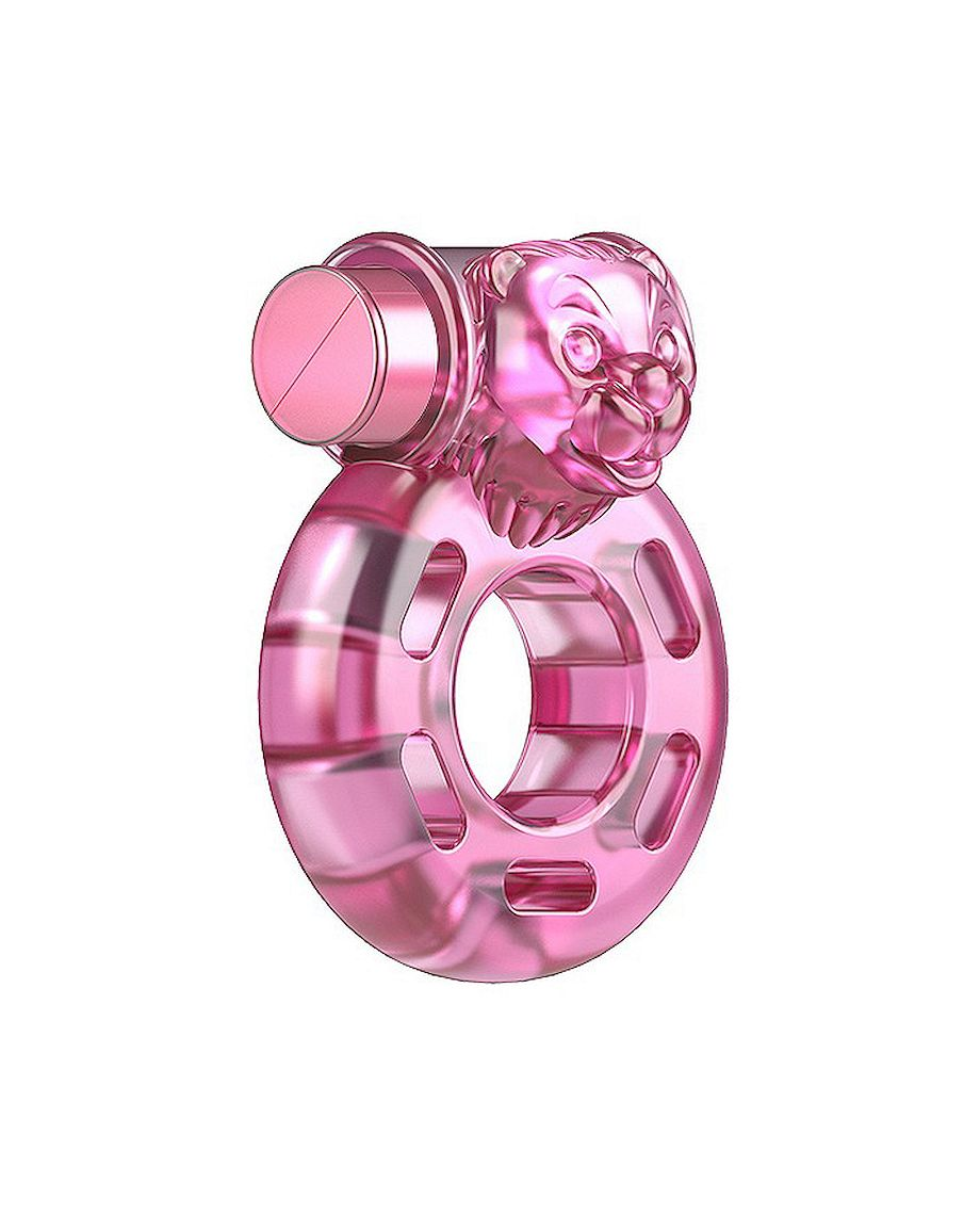 Baile Vibrating Cock Ring in Pink