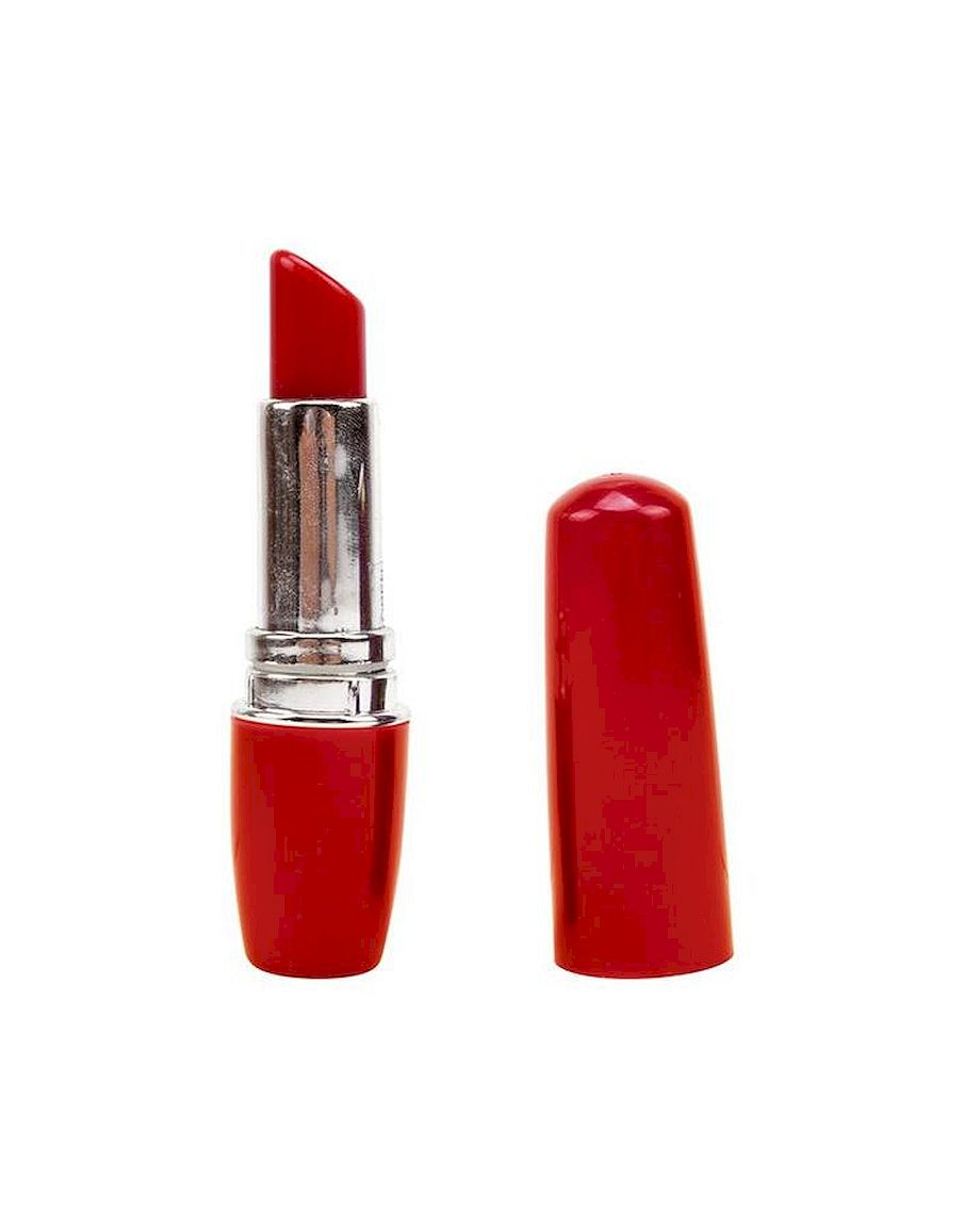 Chisa Novelties Vagina Lipstick Stimulator 9 cm in Red