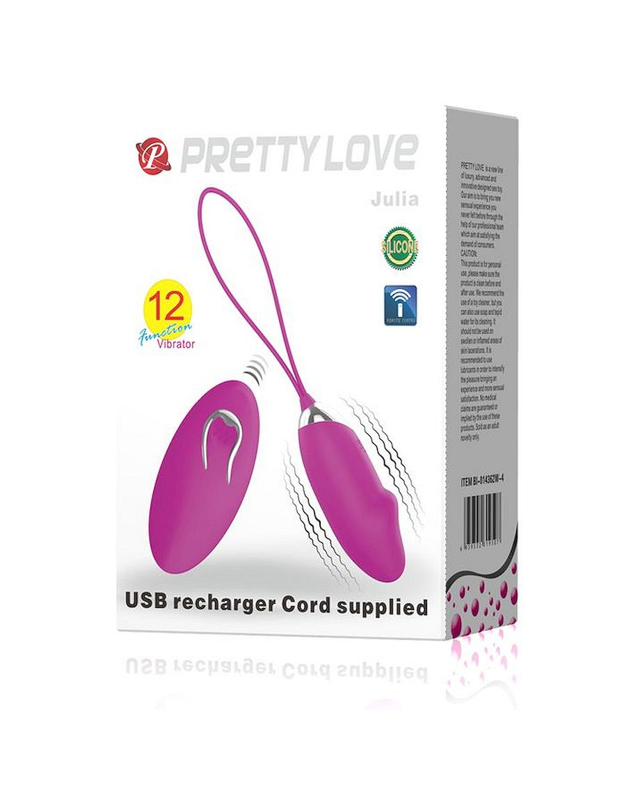 Pretty Love Julia 12 Vibration Functions Remote Control
