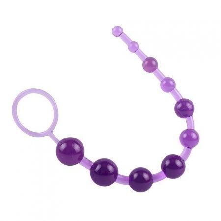 Chisa 10 Anal Beads Sassy 30cm Purple