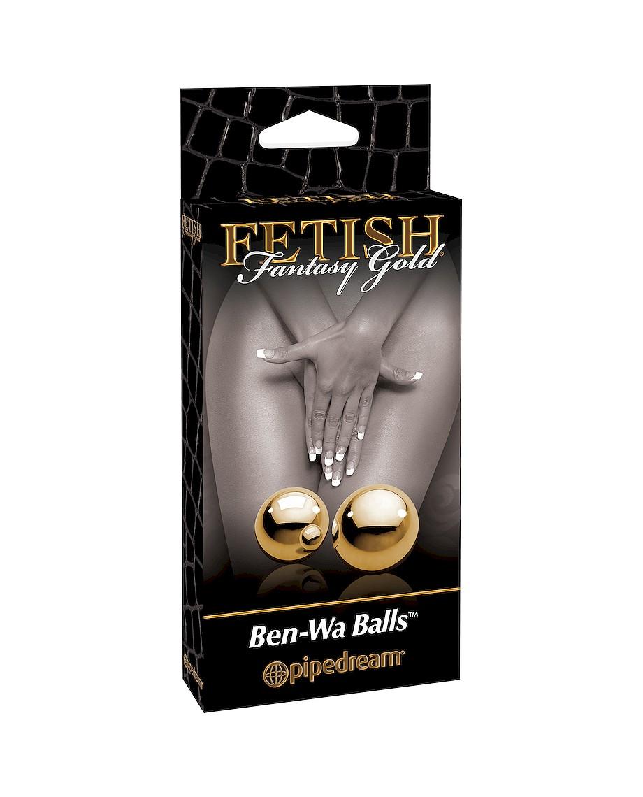 Fetish Fantasy Gold Ben-Wa Balls PD3990-27 Gold