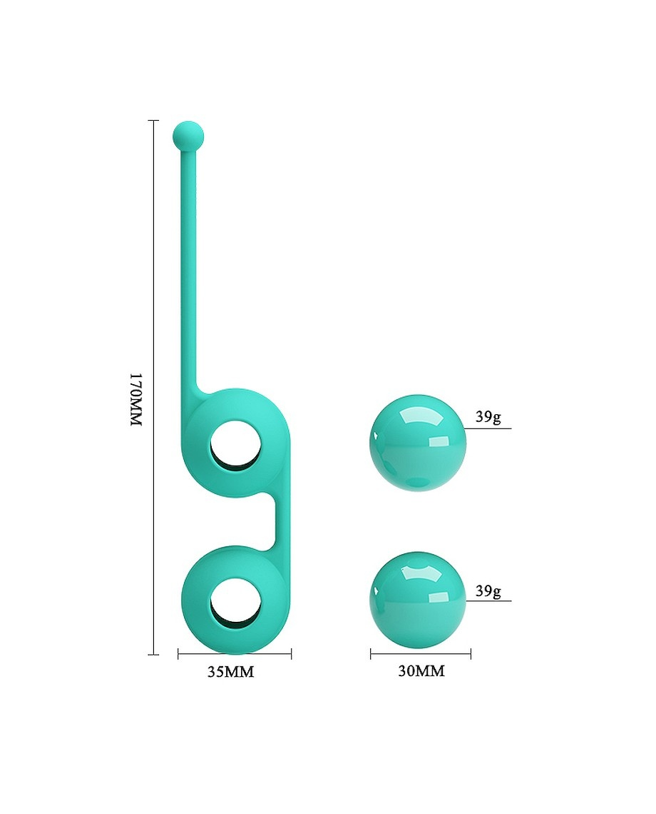 Pretty Love Kegel Tighten Up III in Blue
