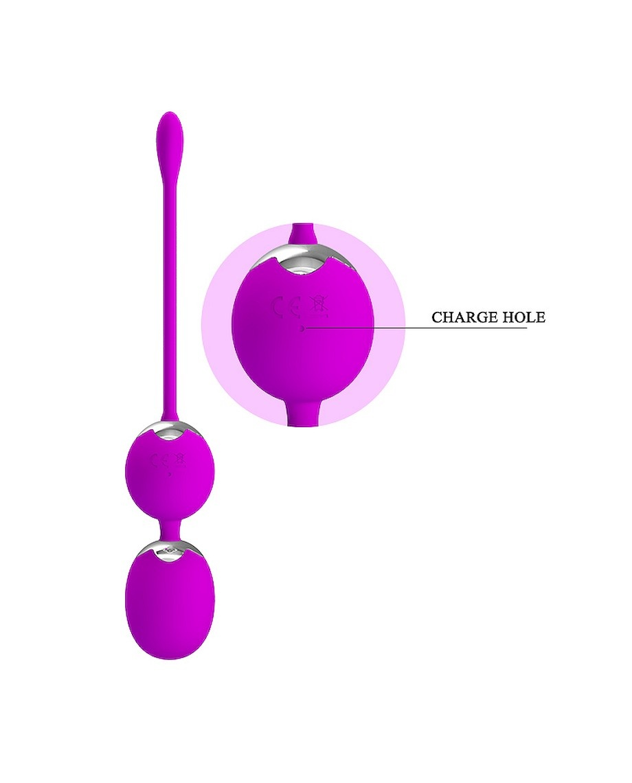 Pretty Love Willie Kegel Balls Remote Controlled