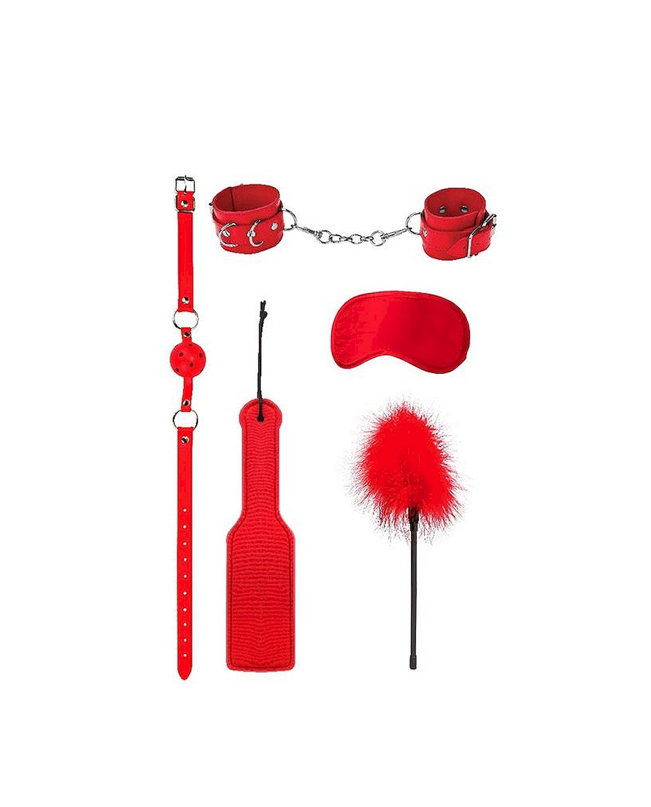 Ouch Introductory Bondage Kit N4 Red