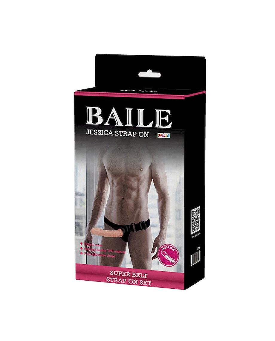 Baile Strap-On with Hollow Dildo 16 cm