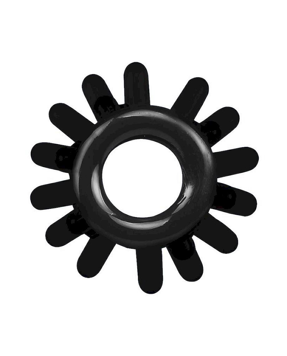 Chisa Get Lock Cock Rings Set Black