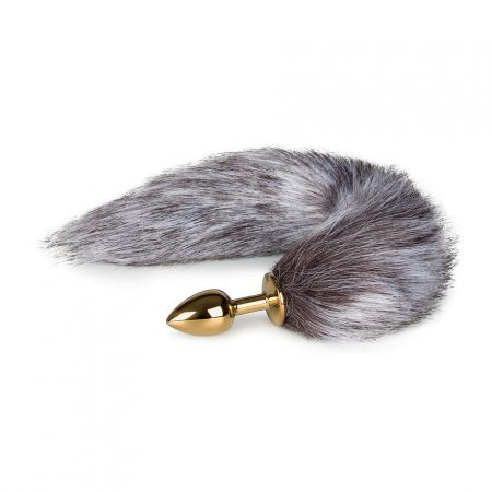 Easytoys Fox Tail Plug No 5 Gold