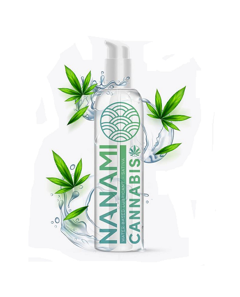 Nanami Water Based Lubricant Cannabis 150ml