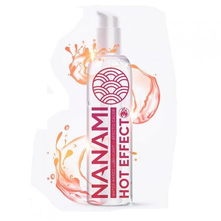 Nanami Water Based Lubricant Hot Effect 150ml