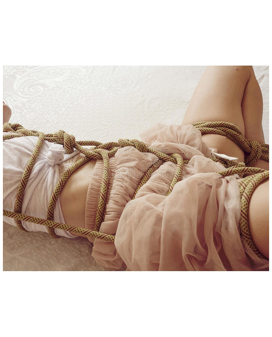 Fetish Addict 10 Metres Hemp Bondage Rope Nature