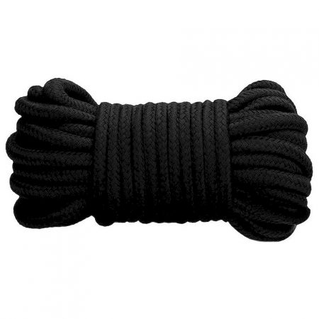 Fetish Addict Bondage Cotton Rope 10 Meter Blk