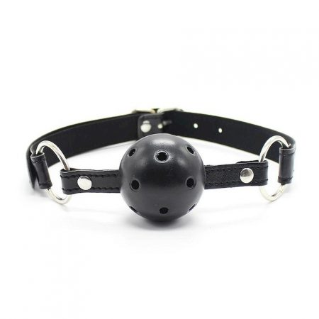 Fetish Addict Breathable Ball Gag 45 mm Black
