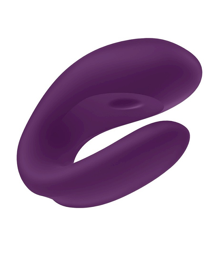 Satisfyer Couple Vibe with APP Double Joy Violet