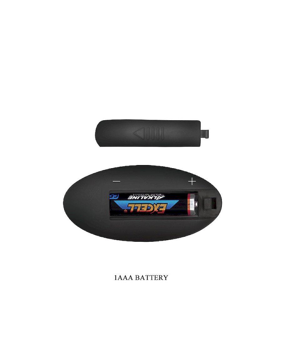 Pretty Love Vibrator for Couples Algernon Remote Control USB Black