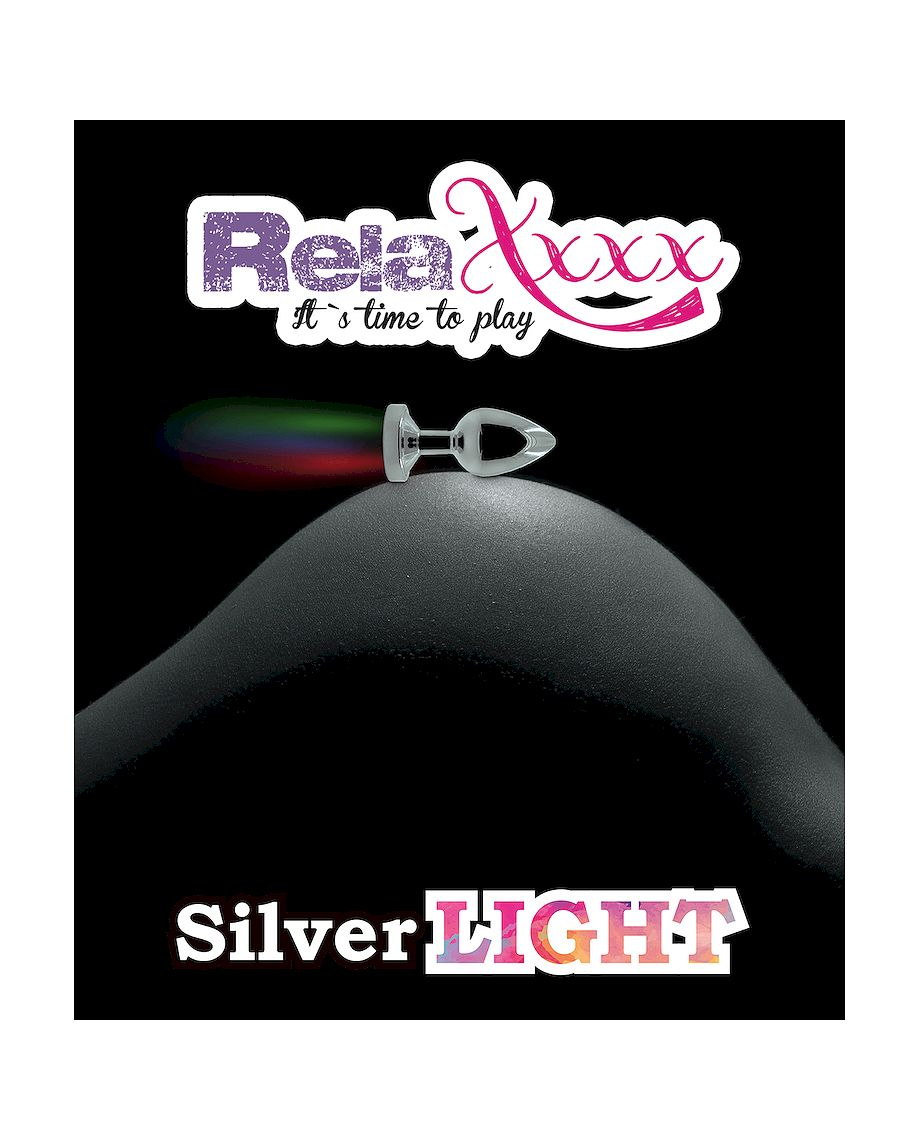 RelaXxxx Silver Light Anal Plug