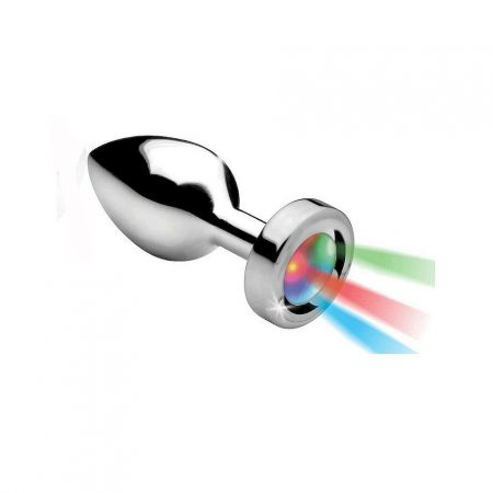 RelaXxxx Silver Light Anal Plug Medium