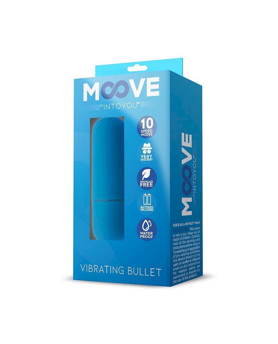 Moove Vibrating Blue Bullet 10 Speeds