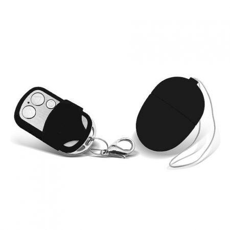 Moove Vibrating Egg with Remote Control Mini Black