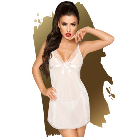 Penthouse CASUAL SEDUCTION Babydoll White L XL