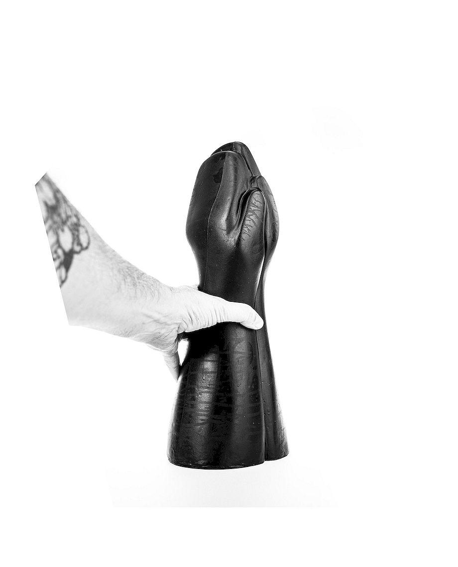 All Black Dildo Fisting 39 Cm