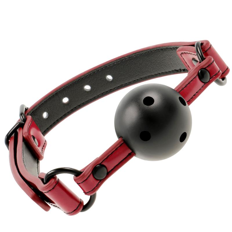 Fetish Submissive Dark Room Breathable Ball Gag