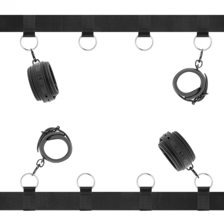 Fetish Submissive Luxury Bed Restraints Set
