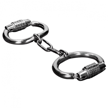 Metalhard Handcuffs with Combination Lock