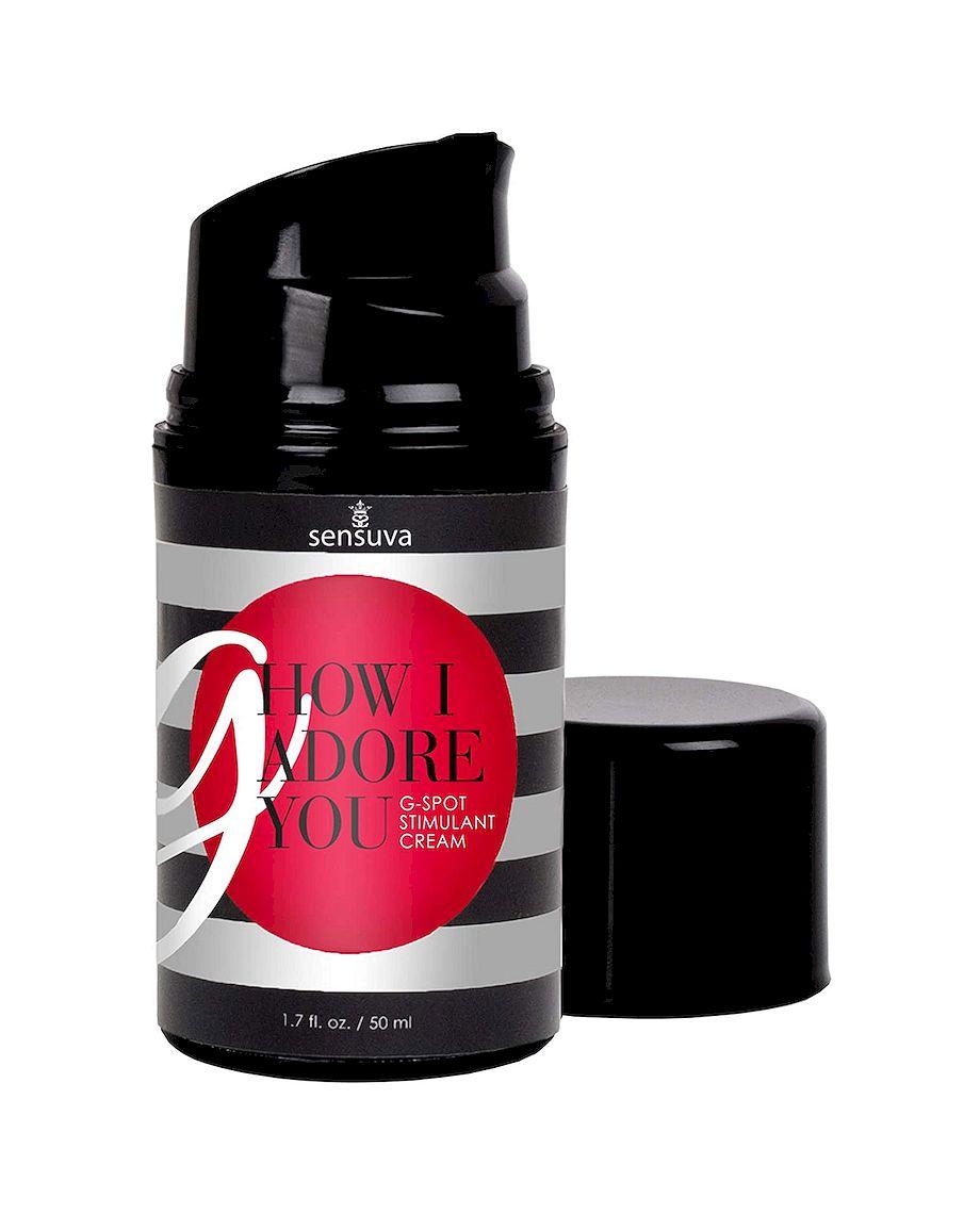 Sensuva G How I Adore You G-Spot Stimulant Cream 50 ml